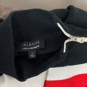 Talbots Sweaters - Talbots Après Ski Mock Neck Winter Sweater // Top